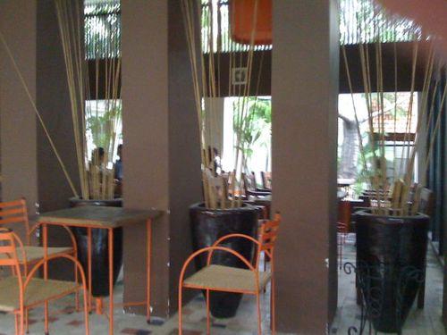 Cafe garden pavilion