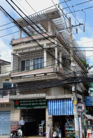 Vietnamese modernist architecture, shophouse