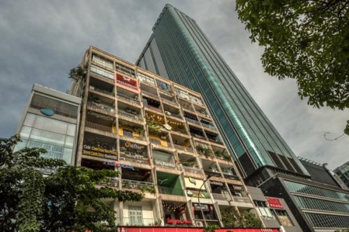 Vietnamese modernist architecture, heritage apartment building