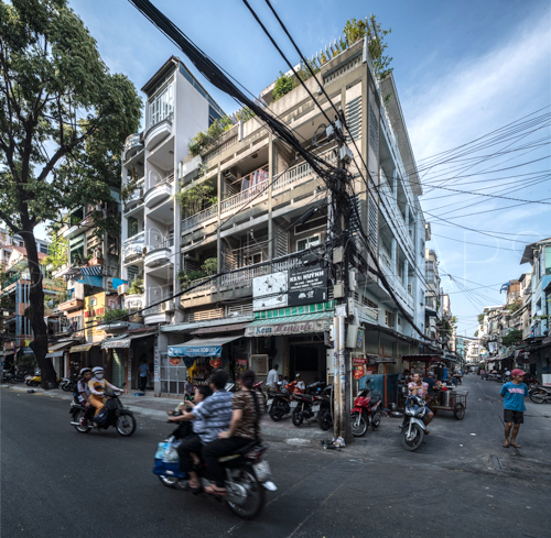 Vietnamese modernist architecture, apartment house