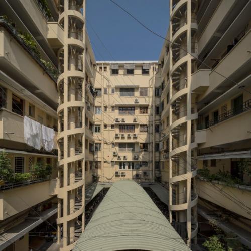 Vietnamese modernist architecture, apartment building