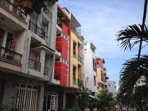Vietnamese Modernist Architecture, Modernist Streetscape