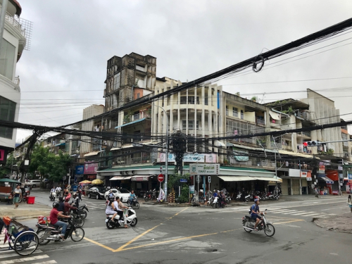 Vietnamese Modernist Architecture, Phnom Penh Apartment House, Cambodia