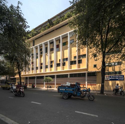 Trần Đại Nghĩa facade